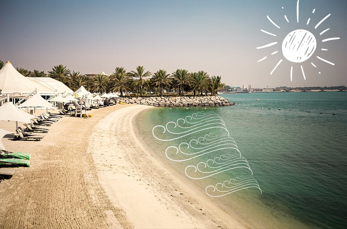 The beach is waiting, where are you? الشاطئ ينتظرك ، أين أنت ؟ https://t.co/U8fJoUOyTM