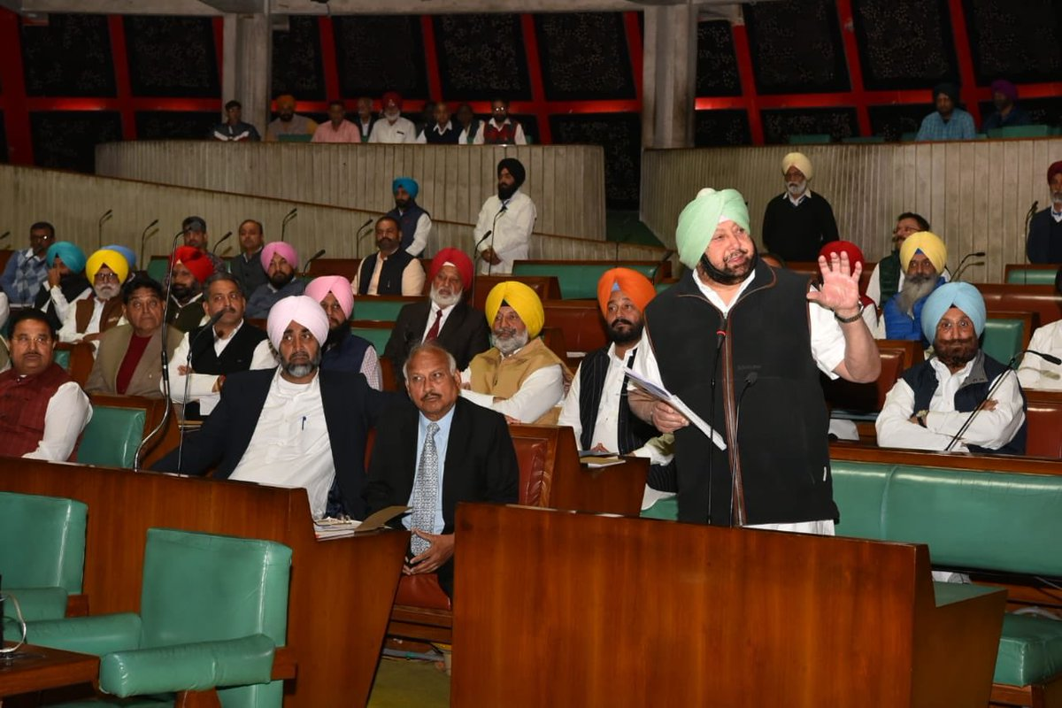 .@DGPPunjabPolice has already apologised, it's time to move on and focus on ensuring peace, says @capt_amarinder in Assembly on row over Dinkar Gupta's remarks on #KartarpurCorridor. Says it's human to make mistakes, we all make mistakes.