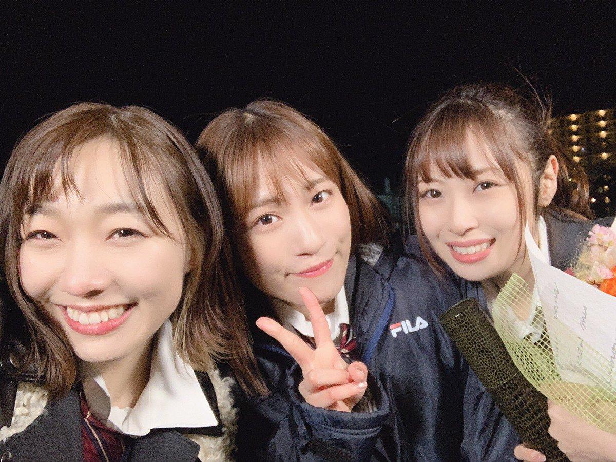 本日24:25~「SKE48のバズらせます!!」に出演します😊 明音ちゃんの卒業企画、カメラを止めるな!風にドローンでワンカット動画に挑戦しました!番組後半には明音ちゃんの卒業ソロ曲「#青春の宝石」の披露もあります、是非観てね〜💐#東海テレビ #SKE48バズ @ske48buzz