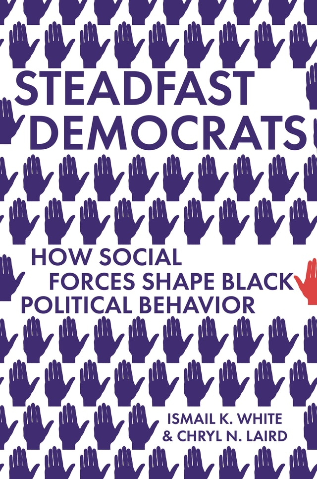 🎂 Happy book birthday to #SteadfastDemocrats by @chryllaird @BowdoinCollege and @IsmailWhitePhD @DukeU! This book explains how segregation and social networks reinforce Black American partisanship to vote Democrat in support of an ally likely to win. #Election2020