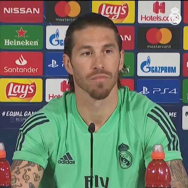 🎙💬 Listen to what @SergioRamos had to say in his pre-@ManCity press conference at #RMCity!  #RMUCL | #HalaMadrid
