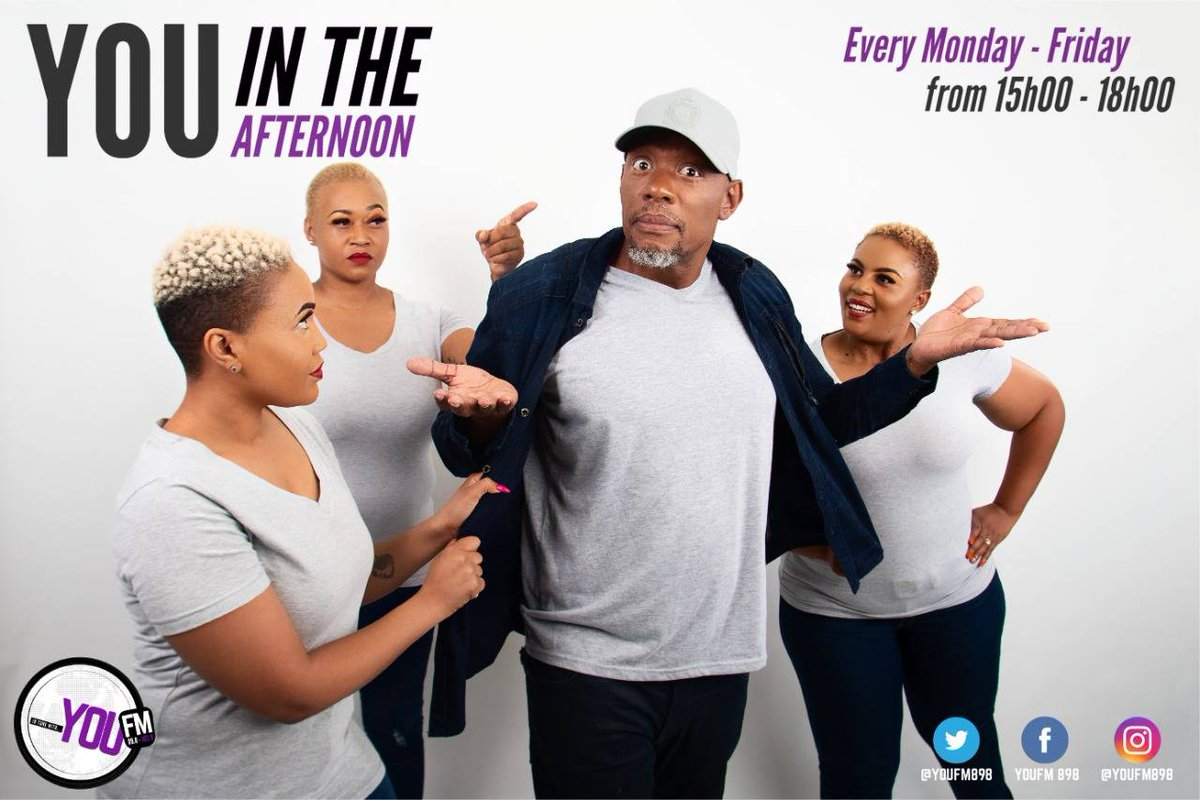 Your Tuesday edition with @za_vibe @MsCarolHobbs @mphogaletshitse @KMokgalagadi on #YOUInTheAfternoon  IN TUNE WITH YOU  DSTV Channel 842  #CelebratingYOU #YOUInspireUs