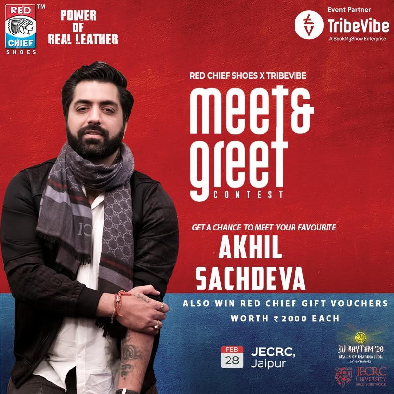 #ContestAlert head over to our Instagram profile to participate & stand a chance to meet @AkhilNasha & win @Red_Chieftians vouchers worth Rs.2000  Follow these rules - http://bit.ly/2HWglCl  #RedChief #TribeVibe #RedChiefTribeVibe #RedChiefContest #AkhilSachdeva #MeetandGreet pic.twitter.com/sDETG4F1Ul
