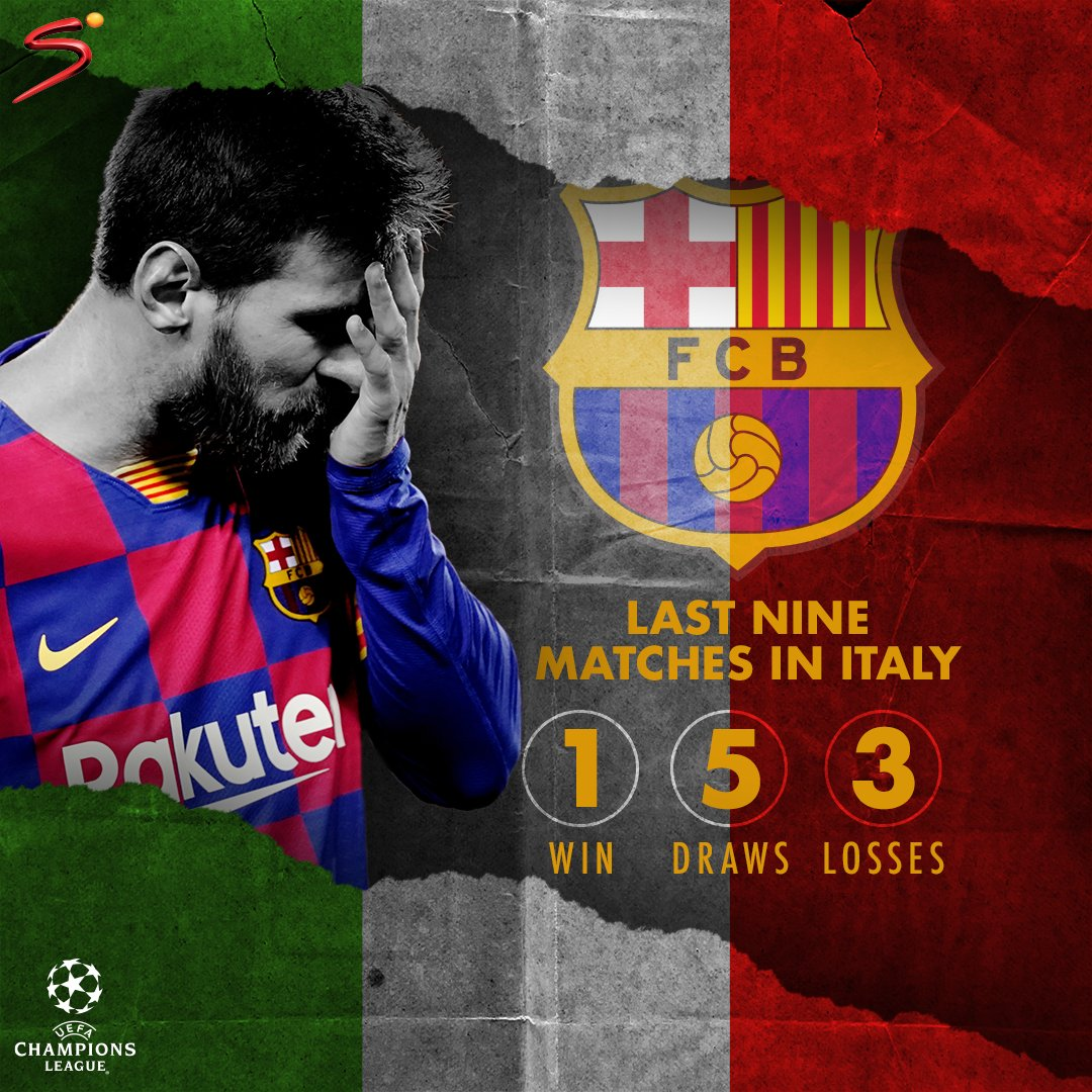 Italy has been a stumbling block for Barcelona in the UEFA Champions League.  Will tonight be any different when they take on Napoli? #UCL