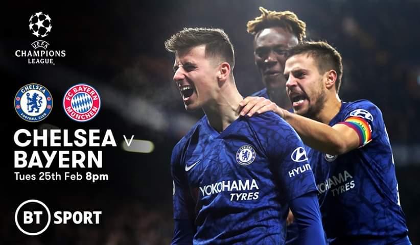 #theFootball ⚽️ @ChampionsLeague 🏆 score prediction @ChelseaFC 1 @FCBayern 3 live on @btsportfootball 📺 #UCL #CHEBAY