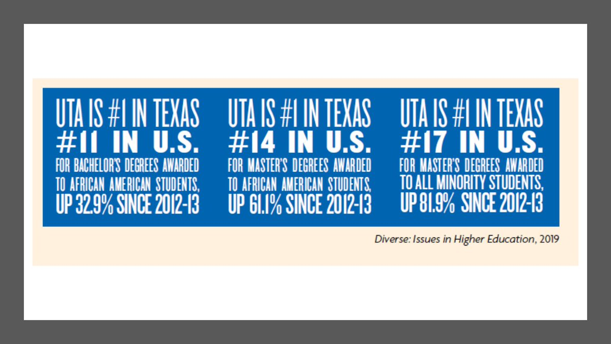 V proud of our tremendous @utarlington faculty & staff who enable the highest level of academic excellence to all students ensuring that we serve as a catalyst for socioeconomic mobility meeting the needs of the communities we serve and of our great State http://www.fortworthbusiness.com/news/uta-among-nation-s-most-diverse-colleges/article_7c1729ae-572e-11ea-97c0-1740086ab890.html …pic.twitter.com/WsDJzs6rEY