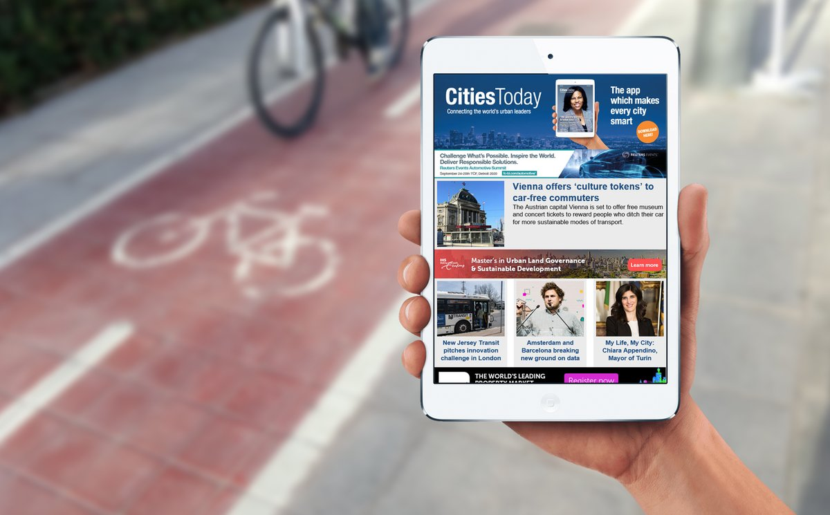 The latest edition of Cities Today News was packed with #mobility and #innovation features.  Missed it? You can still read it here: https://mailchi.mp/cities-today/2020-02-24 …  Subscribe now to receive our #newsletter directly into your inbox! https://cities-today.com/cities-today-news-join/ ….pic.twitter.com/o8z87kZDnU