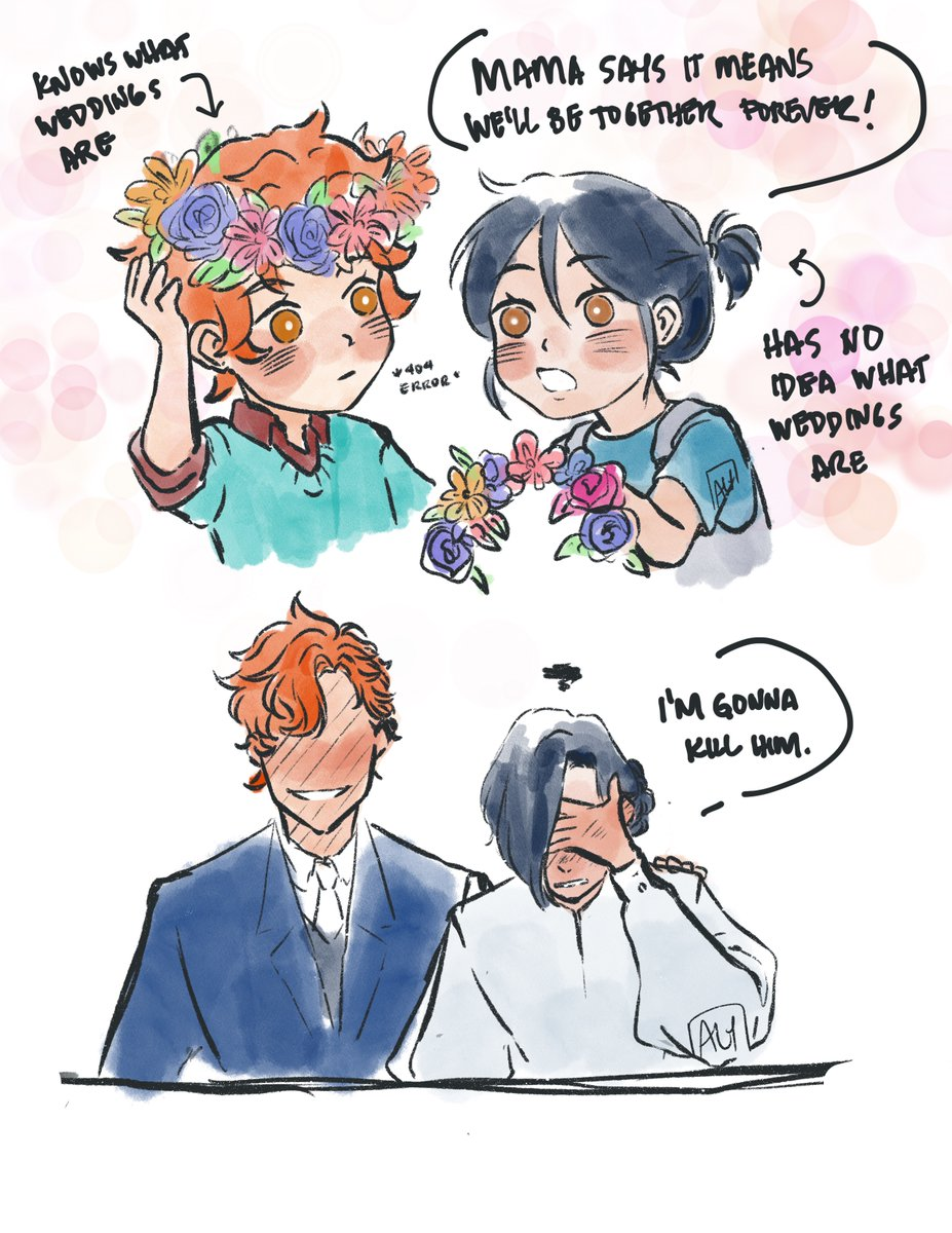 felix week day 6: promises (feat. glenn lives modern au hhh) and of course, of COURSE it's #sylvix and their promise to be together forever#FE3H #FelixBday2020 #FelixHugoFraldarius