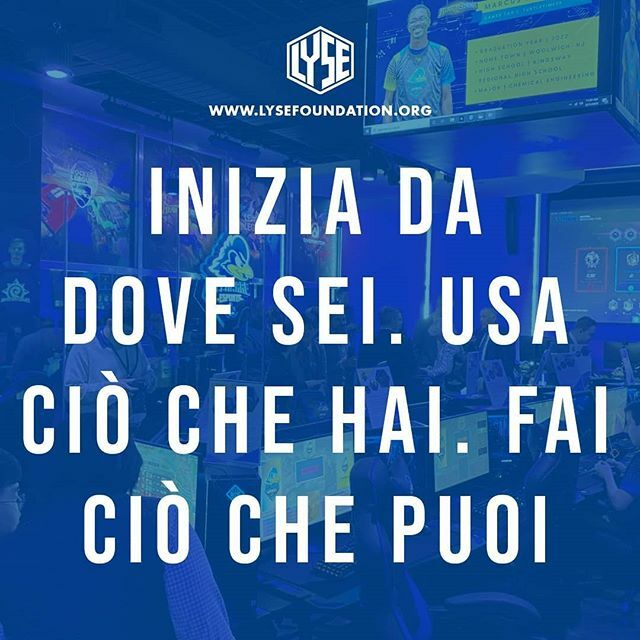 Inizia da dove sei. Usa ciò che hai. Fai ciò che puoi  ALL AROUND ESPORT  PLAYING TOGETHER  LYSE Foundation  #fortnite #fortnitenews #fortnitetoday #fortnitepc #fortniteteam #fortnitecompetitive #blog#firstpost #blogger #sitoweb #website #newteam #comingsoon #new #bestteam #…pic.twitter.com/zgMyOk8dPh