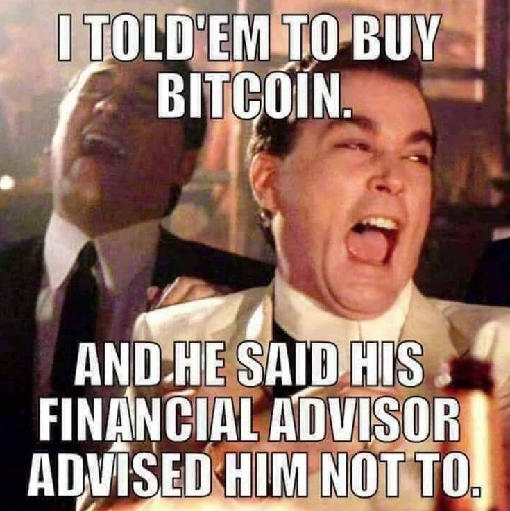 This #meme just got me laughing I thought I'd share it   #bitcoin #meme #crypto #blockchain #cryptocurrency #invest pic.twitter.com/0isTgrJIFP