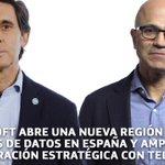 Image for the Tweet beginning: Microsoft abre una nueva Región