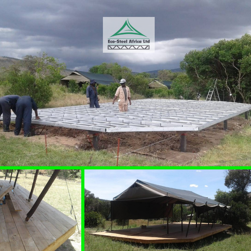 Our #LightGaugeSteel #deck solutions are fast and accurate. #CustomDesign and #EcoFriendly  #GreenBuilds #EcoBuild #LGS #MadeInKenya #BuildKenya #EcoSteel #Africa #Kenyapic.twitter.com/w5G2JKc6TV