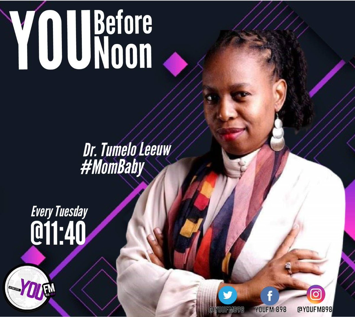 Take a small step everyday to teach your children about living a healthy lifestyle #MomBaby  Tune in as Dr Tumelo Leeuw schools us with @BeestingBonolo on #YouBeforeNoon  DSTV Channel 842  #CelebratingYOU #YOUInspireUs