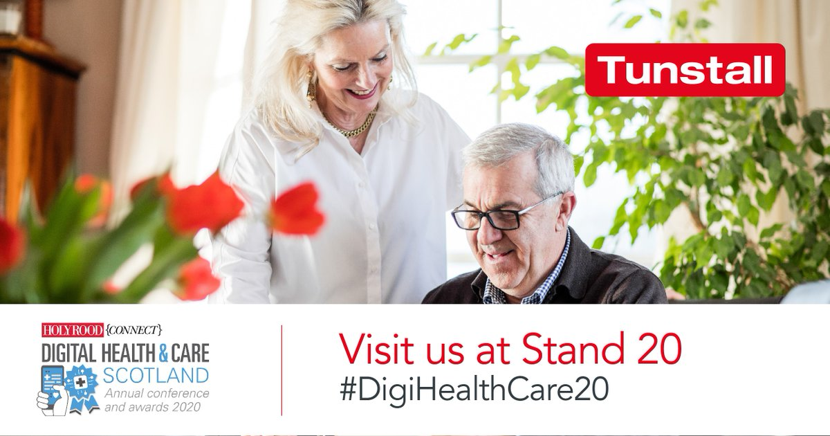 #DigitalTechnology  has the potential to change the face of #health  and #socialcare  delivery. Join @TunstallHealth  at #DigiHealthCare20  to discuss how we can play a key role in helping providers manage challenges and deliver #effective , #highquality  and #personcenteredcare . #TECS