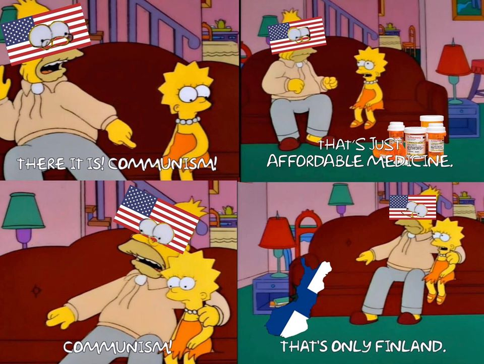 Americans when someone suggests improving life in any way