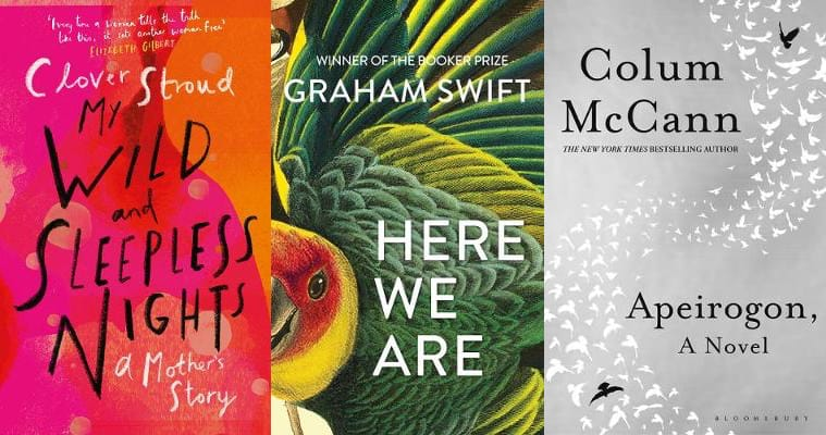 "Don't miss this week's @BooksintheMedia reviews round-ups! @cloverstroud's #MyWildandSleeplessNights is hailed as a ""powerhouse"", Graham Swift's #HereWeAre is dubbed ""pitch-perfect"" and Colum McCann's #Apeirogon is ""a masterpiece""  See #TheWeekinReview: http://bit.ly/2wBabF8 pic.twitter.com/kPKljIJ2uf"