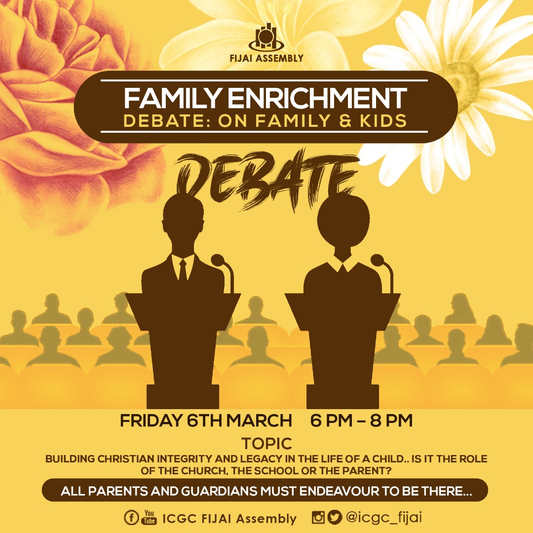 The countdown begins...Family Enrichment Month 2020!!Launch: Sunday 1st March, 2020Are you ready???Save these dates...and do well to join us!!!INVITE YOUR FRIENDS TOO!!!IT'S TIME TO PUT EXCELLENCE TO WORK!!!#FamilyEnrichmentMonth#GoTHERE#SpiritInspiredEXCELLENCE
