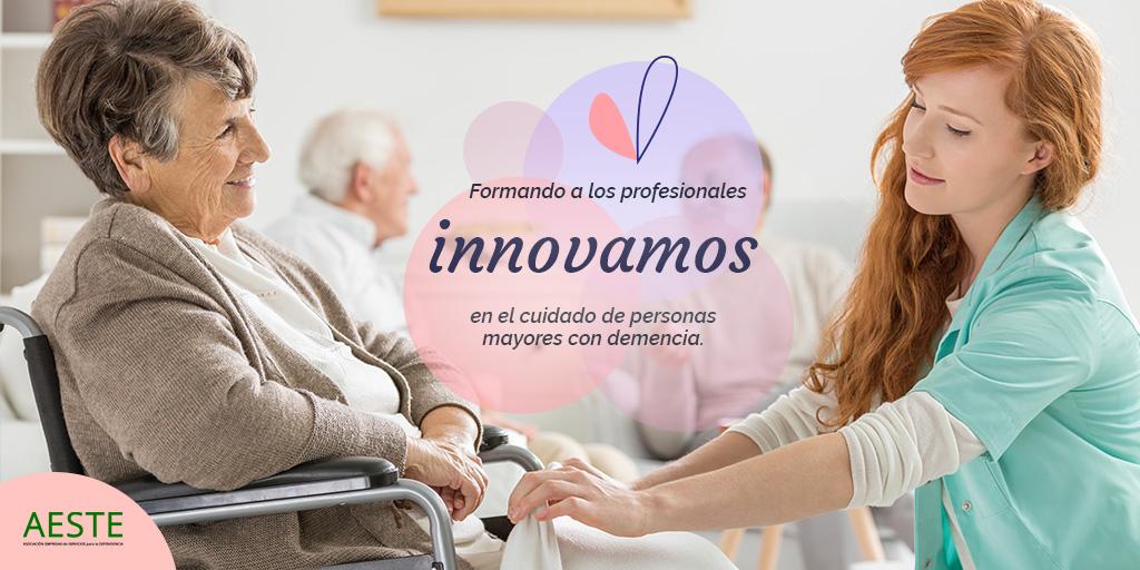 test Twitter Media - 👩⚕️Apostando por la formación continua de #Gerocultoras y familiares trabajamos cada día para desarrollar nuevas iniciativas que mejoren la calidad de vida de las #PersonasMayores con #demencia. https://t.co/2c6oKU3TKU https://t.co/kTcn18mwAv