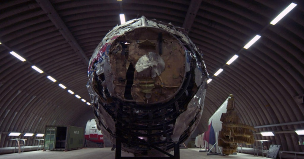 Still no justice for MH17 as reconstructed plane shows shrapnel damage from warhead cbsn.ws/2SWoFbp