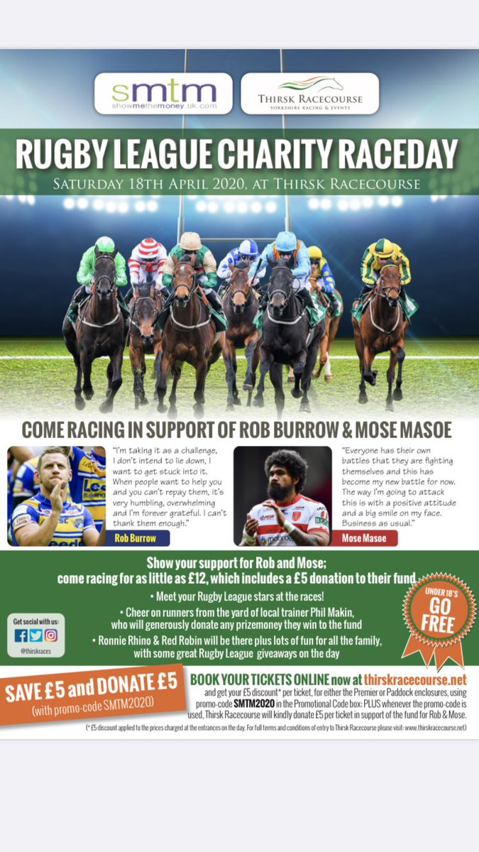 Great work, should be a brilliant day for 2 fantastic causes.