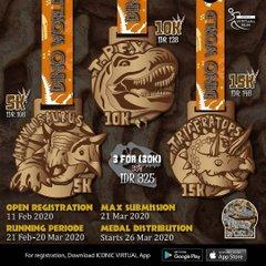 Iconic Virtual Run – Dino World Series • 2020