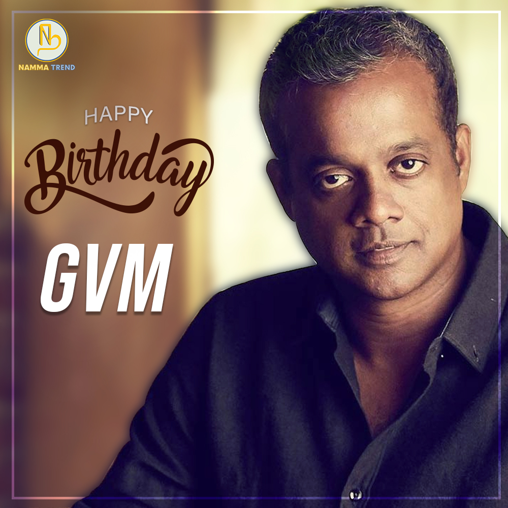 There's a lot one can say about a person based on their favourite Gautham Vasudev Menon film.  Happiest of Birthdays to the Ace Filmmaker @menongautham ! #nammatrend https://t.co/96EbgN2lj8