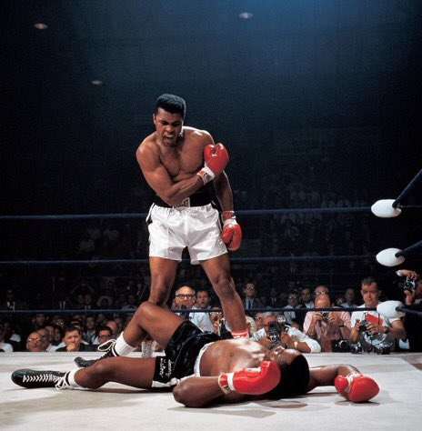 Fifty six years ago today, Cassius Clay defeated world heavyweight champ Sonny Liston with a seventh-round TKO.