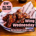 Image for the Tweet beginning: Wing Wednesday tomorrow guys!!! All
