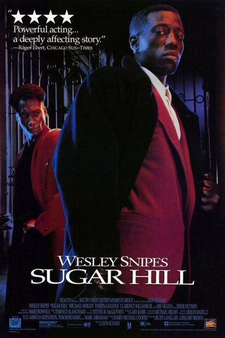 The movie Sugar Hill was released in theaters 26 years ago today.