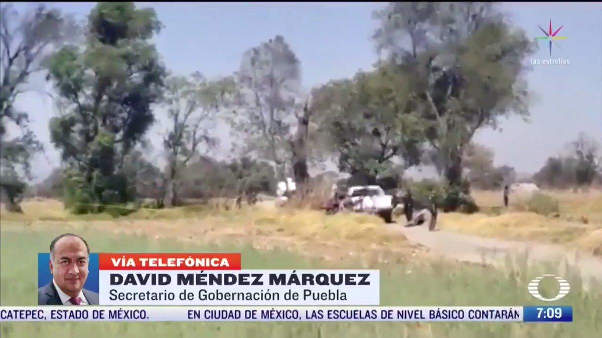Asesinato de 4 jóvenes en Puebla pudo ser por robo de vehículo, dice gobierno del estado. Entrevista con @DavidMendezPue. #Despierta con @daniellemx_ y @campossuarez