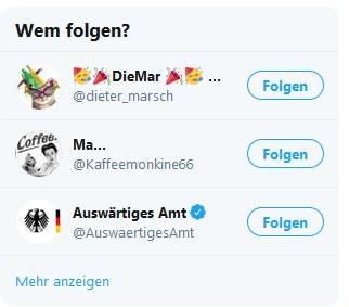 Wer von Euch treibt da Schabernack mi dem Twitter-Algorithmus??? pic.twitter.com/3XnBq2ymY3