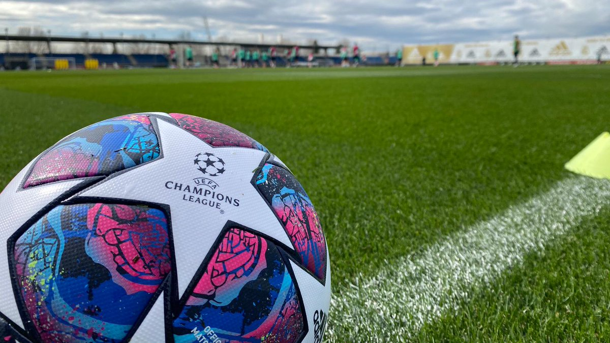 ⏳⚽ ¡Con ganas de que vuelva a rodar el balón de la @LigadeCampeones en el Bernabéu! #RMUCL | #HalaMadrid
