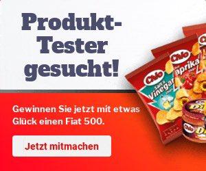Jetzt mit etwas Glück MEGA-Tester werden. Unter allen Testern verlosen wir einen Fiat 500! Chio-Produkte testen und gewinnen.  https://www.adcell.de/promotion/click/promoId/169239/slotId/87225…  #essen #auto #kostenlos #kostenloseprodukte #kostenlostesten #geldsparen #gewinnspiel #germany #deutschland #gewinnspiele pic.twitter.com/qDebVK2ApB