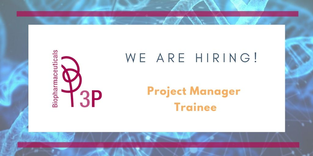 We are hiring! #ProjectManager #Trainee Join our team!https://lnkd.in/dgq8ScZ   #jobvacancy #Pamplona #Navarra #GMP #biologics #OneStopShop #CDMO #biotechnology #biotecnologíapic.twitter.com/JNjNGO4XOt