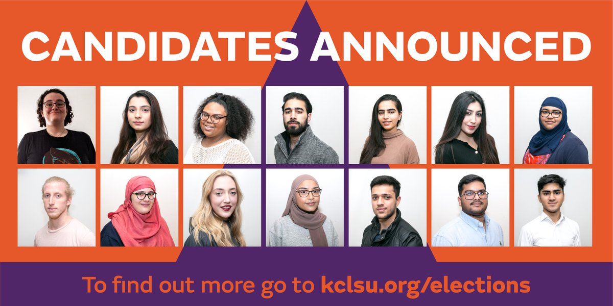 Meet your #kclsuSpringElections candidates here! ow.ly/fWxE50yvbF7