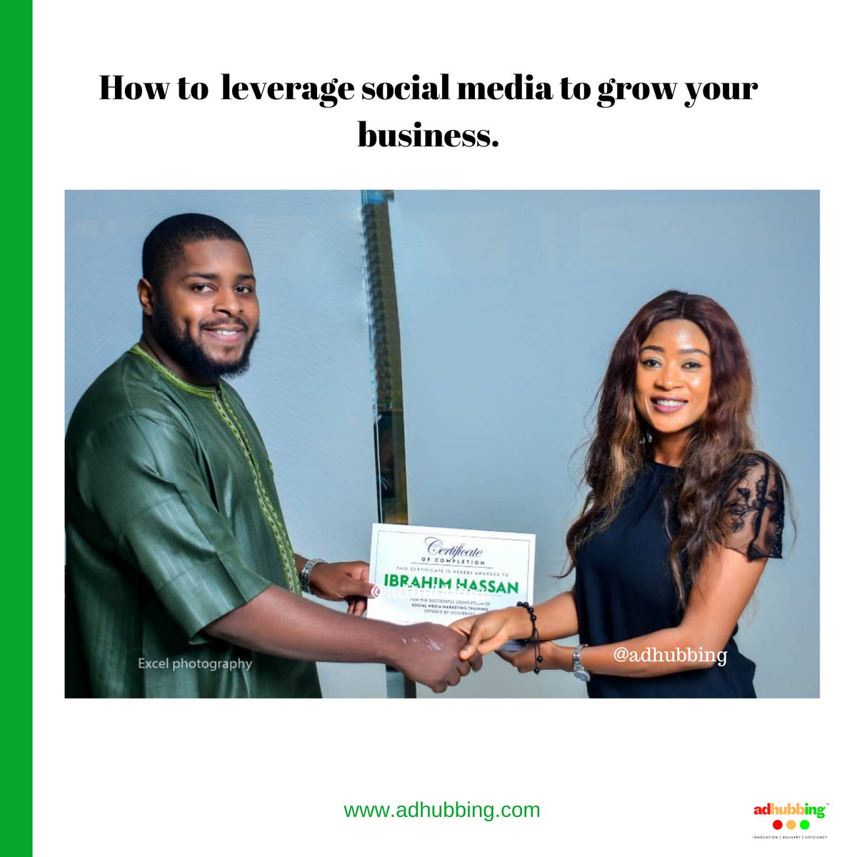 Are you ready to learn how to leverage social media for your business? Click the link in our bio now and join our FREE Masterclass. #adhubbing   #naijabusiness#naijastartups#abujabusiness#portharcourtbusiness#owerri#portharcourtfashion#ibadan#naijabiz#abuja#abujabusiness pic.twitter.com/Ybk6sT9YG2