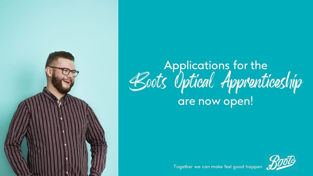 Ambitious, ready to step in to work and want to achieve your career goals fast? An #apprenticeship with @Boots_Talent could be for you, learn as you earn and shape your future. Applications for the Optical Apprenticeship programme now being taken http://ow.ly/mkxh50ygp8V