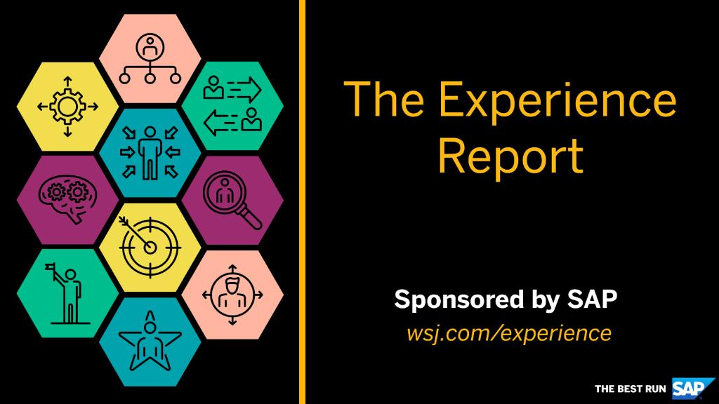 We're proud to present The Experience Report, exclusively sponsored by SAP.   This new offering from @WSJ delivers insights and analysis to help companies optimize data and tech to drive business and win in the experience economy: http://sap.to/60141mHx2
