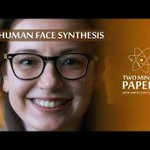 Image for the Tweet beginning: StyleGAN2: Near-Perfect Human Face Synthesis...and