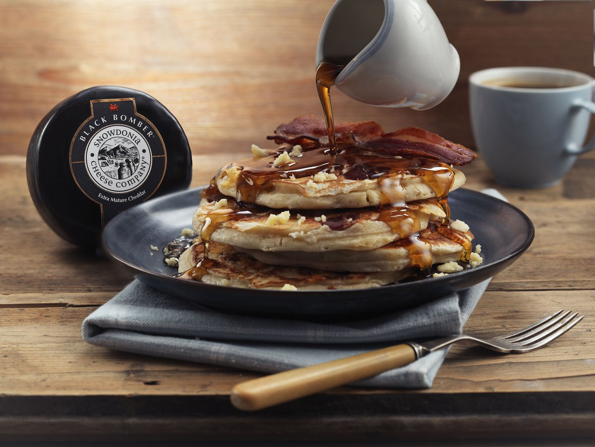 Switch to savoury this #PancakeTuesday with our Black Bomber and Bacon Pancake recipe 🥞 https://t.co/PTCm9riy6e