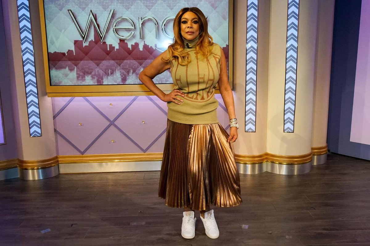 Miss @WendyWilliams did not come to play! She's out here in @TELFARGLOBAL RTW 💅