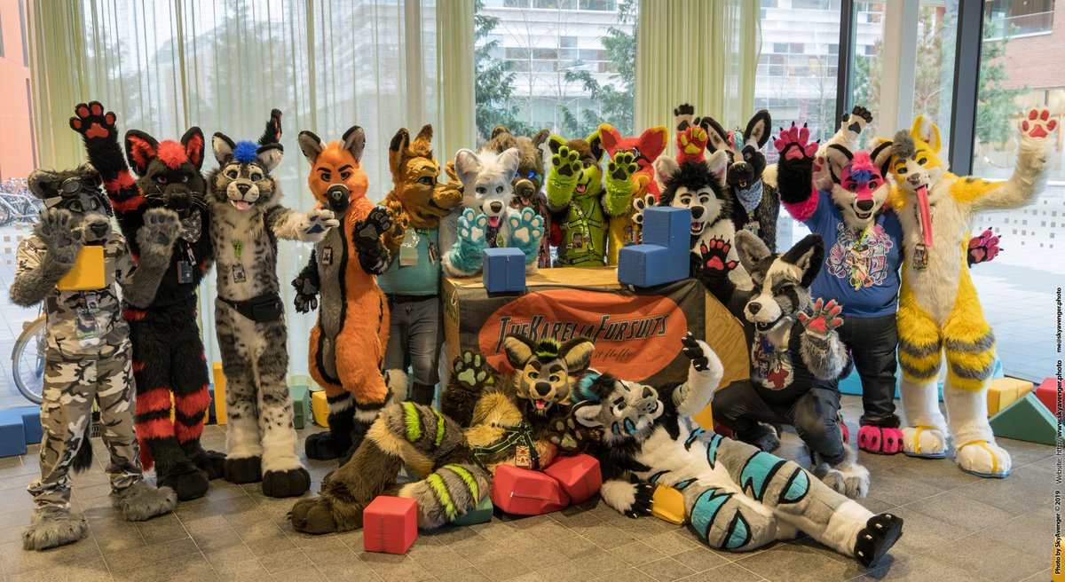 Just received this lovely photo taken by @skystaravenger at #NFC2020  Fursuiters are @KlaatuPaw @zato_zioen Jack @corvusfox @WolfKendo @Winter_moon98 @Naitas_Fang @Rico_The_Wolf @Red_wolf22 @HannesNala @Ryanwuff @FoxgayLoxely @SergalSky @wTysonWolf @TigWiesel and @sadaharuvore<br>http://pic.twitter.com/5RLyf8nNkp