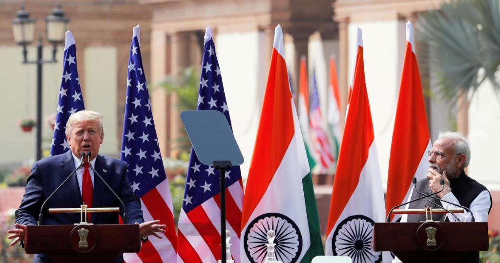 President Trump's quick India visit gets serious cbsn.ws/390EwLJ