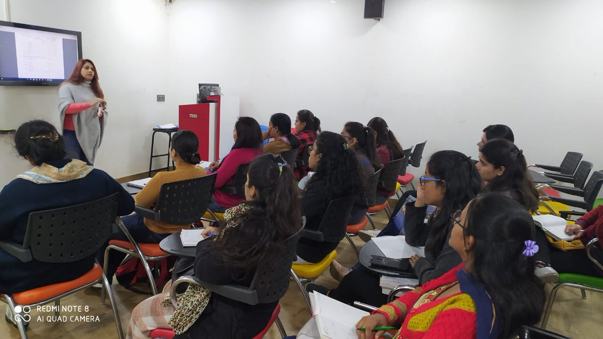21st-February-2020 B.Ed 1st Year Orientation Program Session 2019 -21 for syllabus discussion with Expert Rajni Bhasin General Manager of Noble Institute of Professional Studies pic.twitter.com/HPzxAfehaD