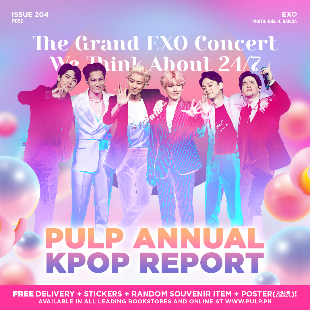We all saw that #EXplOrationInManila was the grandest EXO Planet yet! Get a glimpse of @weareoneEXO and the technical side of this show inside #PULPMagazine204, the PULP Annual KPOP Report.  Grab a copy at  http:// bit.ly/PM204Branches     or via  http:// pulp.ph    .  #LiveLoud<br>http://pic.twitter.com/Ry4iM8gwdm