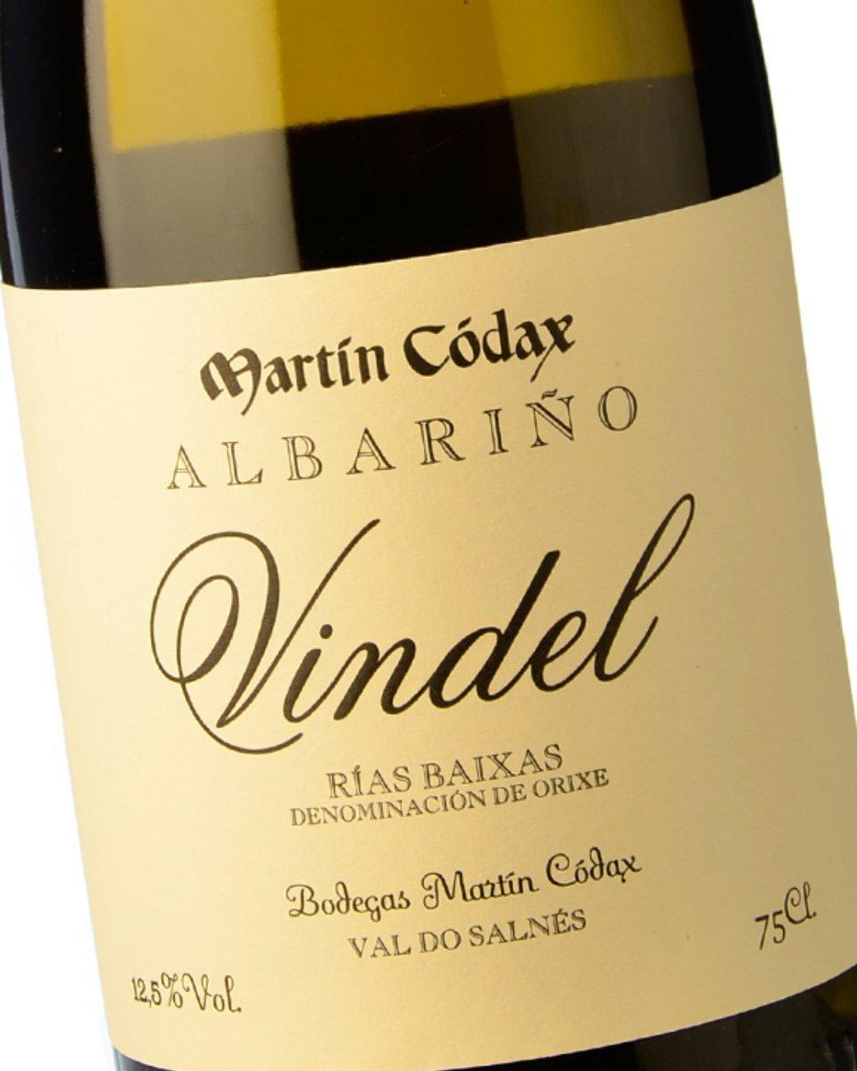 Tercer Mejor Vino Blanco del año 2019 es para Vindel 2015 de Bodegas Martín Códax  #VeremaVLC #Verema2020 #Vindel2015 #BodegasMartínCódax #Albariño #RiasBaixas