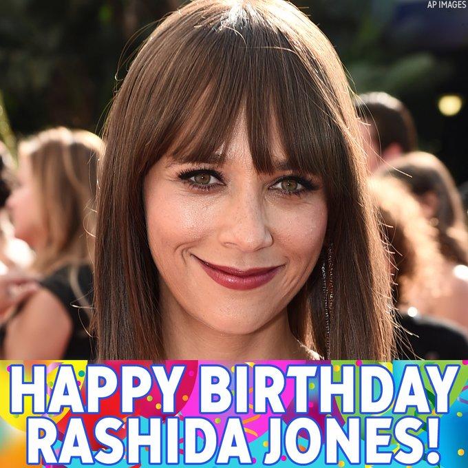 "Happy birthday, Rashida Jones! The \""Parks and Recreation\"" actress is celebrating today."