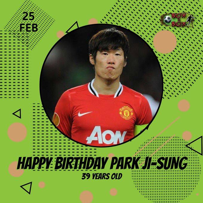 Happy birthday to Park Ji-Sung &