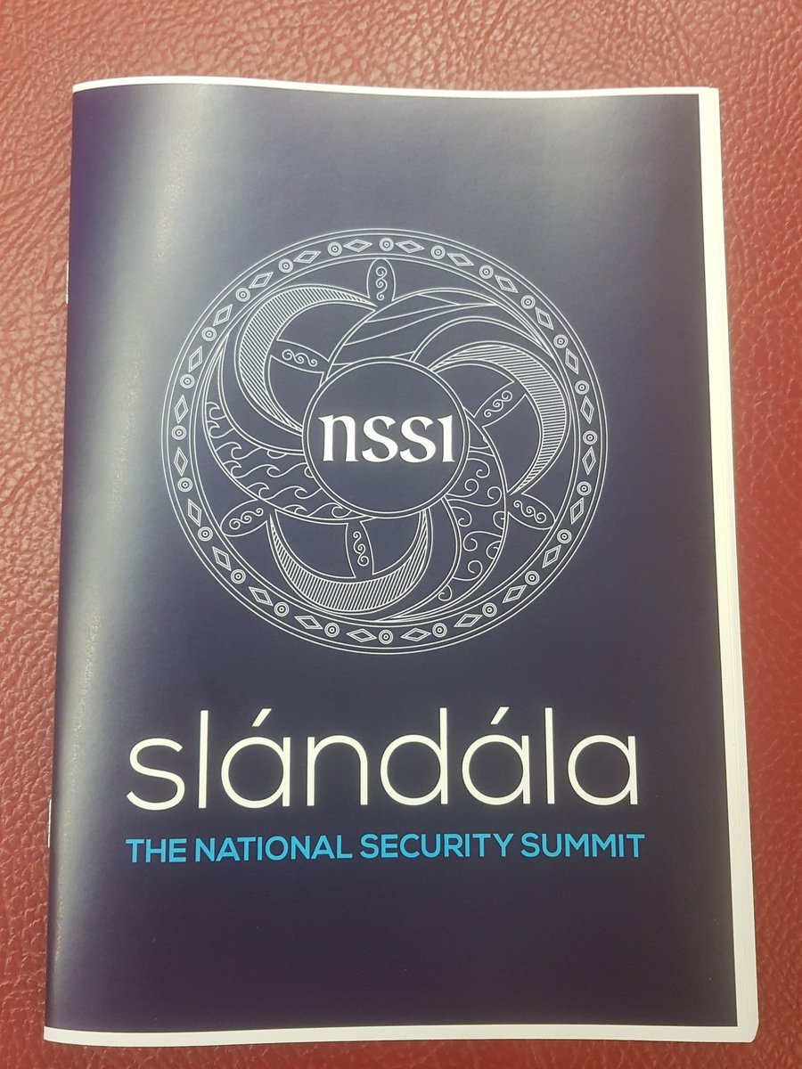 An honour to be presenting #slandail with @wiltshirepolice @swasFT on CBRN incident management, a local perspective. Thanks to @slandail_nssi @dcu @JerryWaldron for organising this groundbreaking summit, taking security to the next level! pic.twitter.com/gW3FVUBRIP