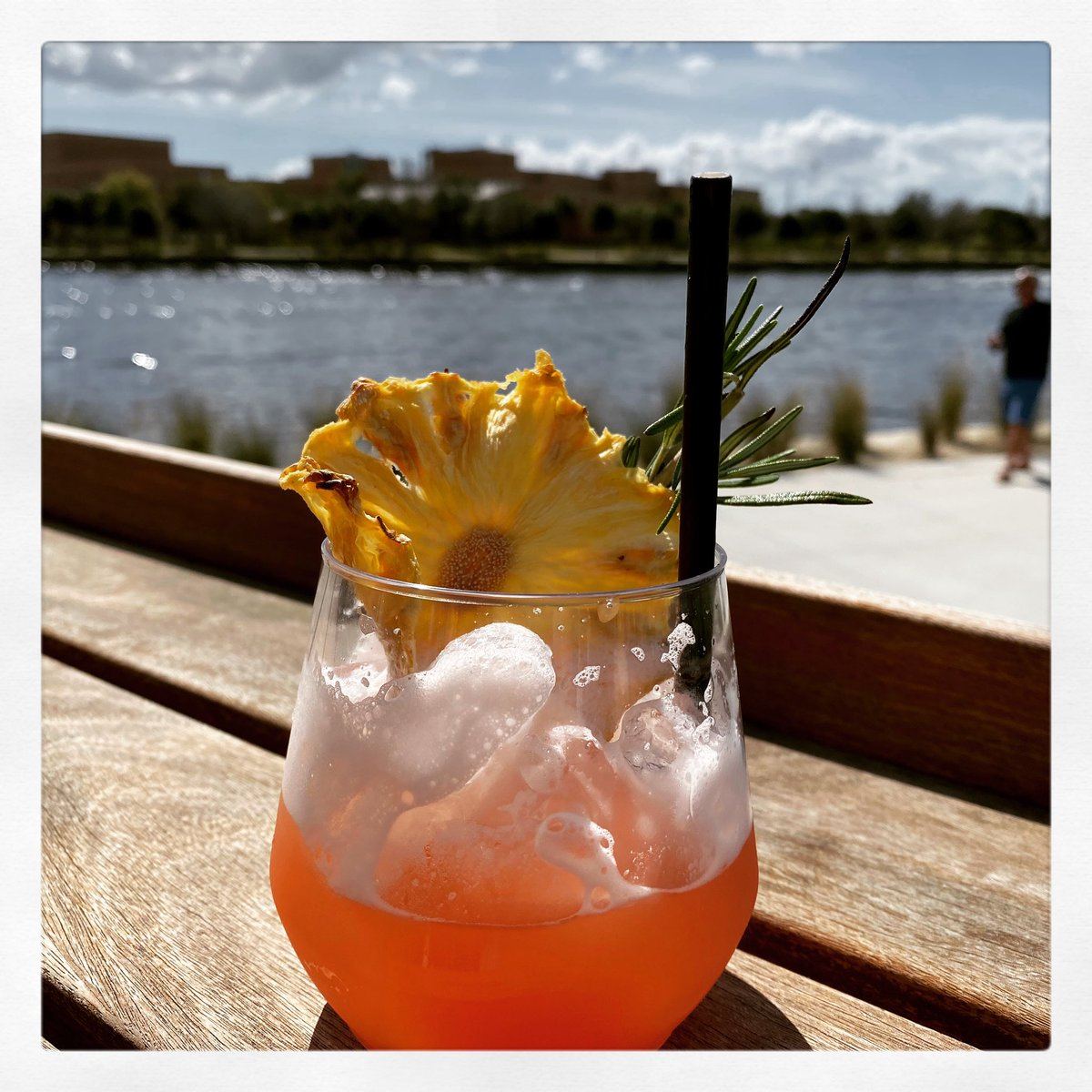 #sundayfunday #stonethrow #armatureworks #adultbeveraging #saythristymyfriends #TampaBay #riverwalk